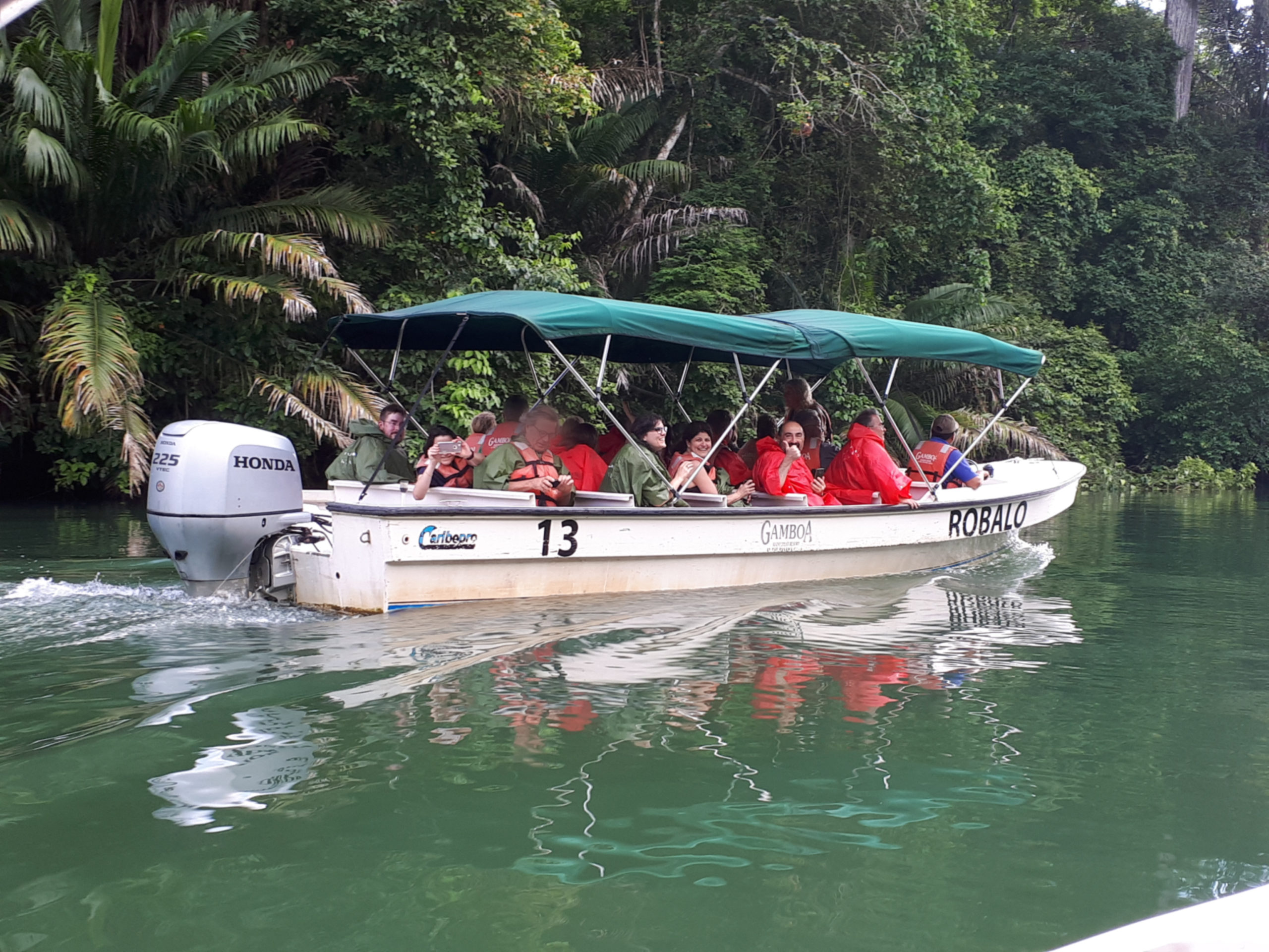 Boat trip on the Canal of Panama, Gamboa Park - 2018