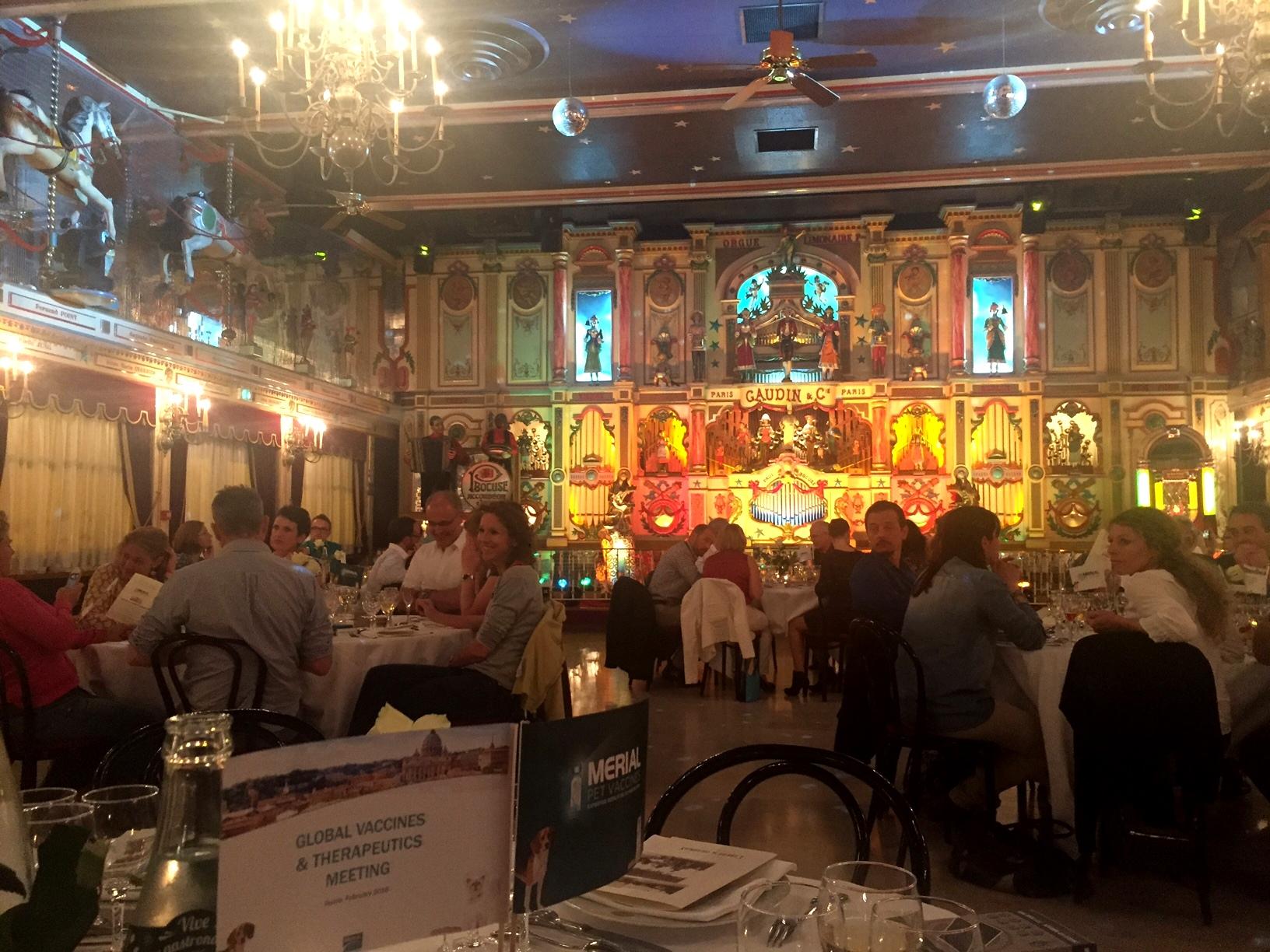 Auberge de Collonges - Bocuse restaurant - Customer dinner - 2008
